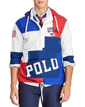 Polo Ralph Lauren - Color-Block Custom Fit Hooded Sweatshirt