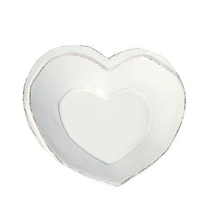 Vietri Lastra Heart Dish