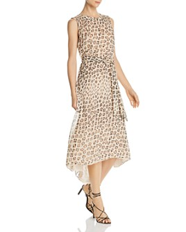 Joie - Corrin Leopard-Printed Silk Dress