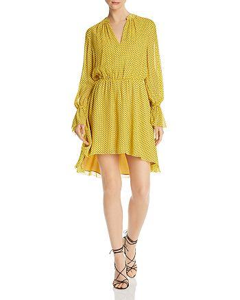 Joie - Daevon Dotted-Silk Dress