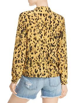 Anine Bing - Lilah Cheetah-Printed Silk Shirt