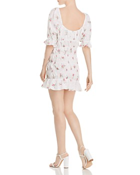 For Love & Lemons - Tarte Eyelet Smocked Dress
