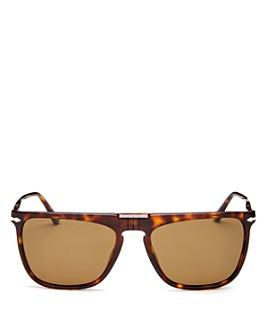 Persol - Men's Polarized Square Sunglasses, 56mm