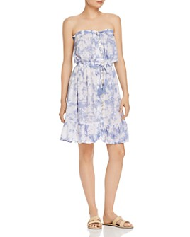 Tiare Hawaii - Tie-Dyed Strapless Drawstring Dress