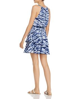 AQUA - Tiered Tie-Dye Dress - 100% Exclusive