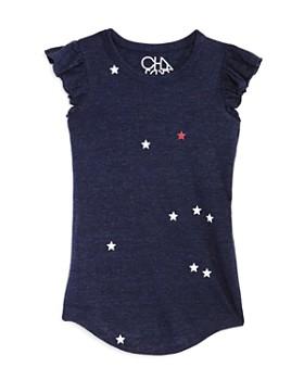CHASER - Girls' Star Print T-Shirt Dress - Big Kid