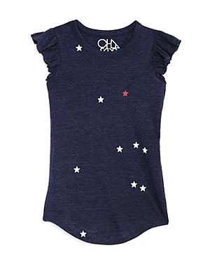 Chaser Girls' Star Print T-Shirt Dress - Big Kid