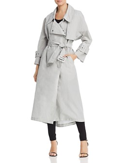 Armani - Oversized Double-Breasted Trench Coat