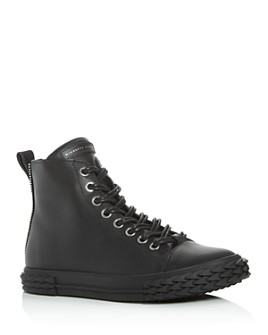 Giuseppe Zanotti - Men's Blabber Mono Leather High-Top Sneakers