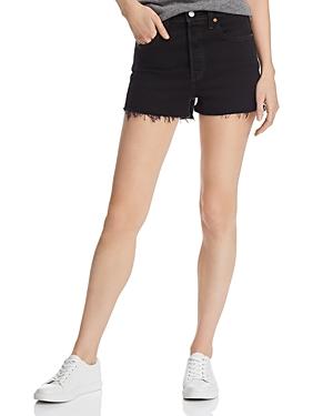 Levi's Shorts RIB CAGE CUTOFF DENIM SHORTS IN LATE SHIFT