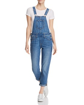 Levi's - Original Denim Overalls in Bottom End