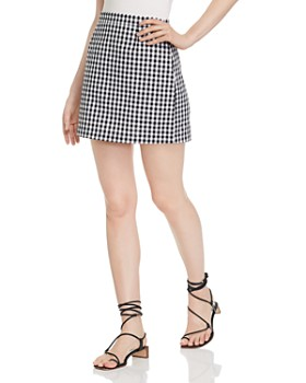 BB DAKOTA - Gingham Mini Skirt