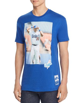 on sale e800c ecf92 MITCHELL & NESS Dodgers Mike Piazza Graphic Tee | Bloomingdale's