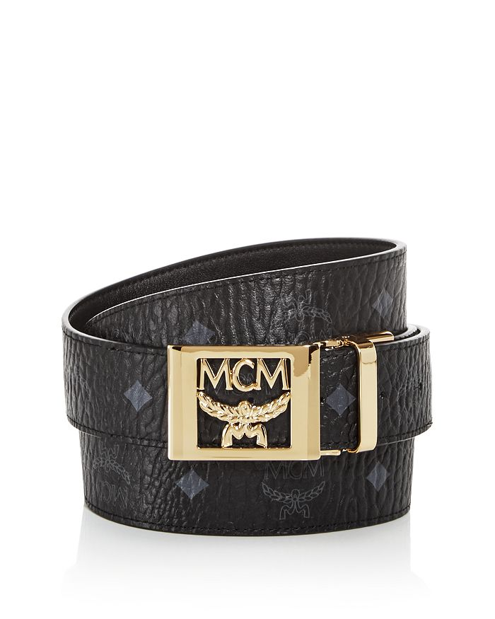 MCM - Men's Logo Monogram Belt