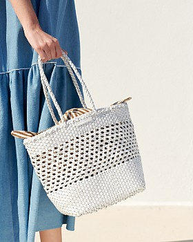 Loeffler Randall - Maya Woven Leather Tote