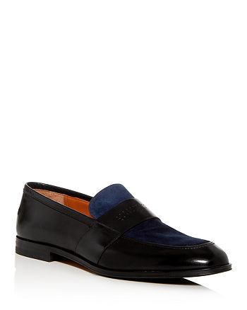 Bally - Wenis Apron-Toe Leather Loafers