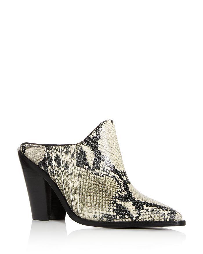 Sigerson Morrison - Women's Kaden Pointed-Toe High Heel Mules