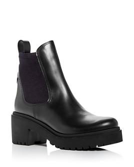 Moncler - Women's Vera Block-Heel Platform Booties