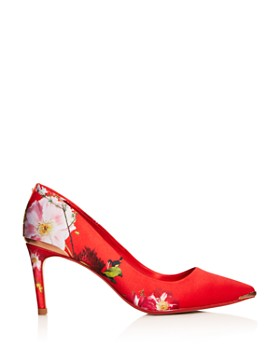 Ted Baker - Women's Court Floral Pointed-Toe Pumps