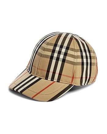 Burberry - Unisex Vintage Check Baseball Cap - Big Kid