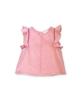 Bella Dahl - Girls' Flutter-Sleeve Top - Little Kid, Big Kid