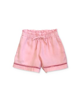 Bella Dahl - Girls' Lattice-Trim Shorts - Little Kid, Big Kid