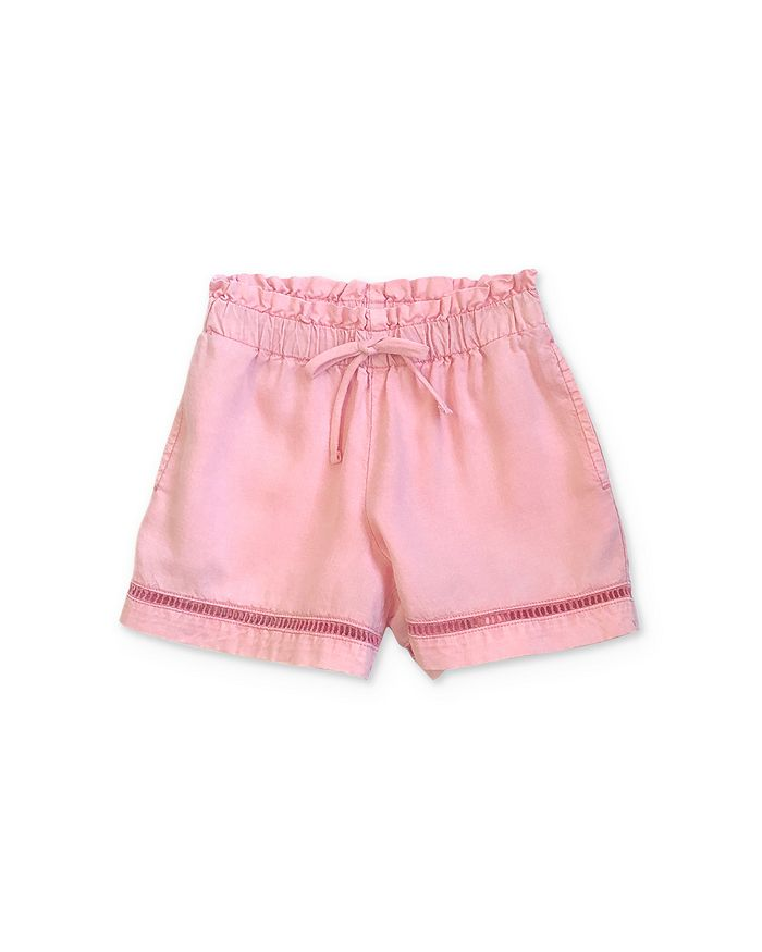 Bella Dahl - Girls' Lattice-Trim Shorts - Little Kid, Big Kid