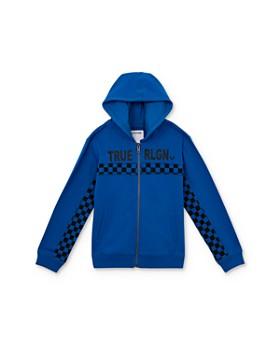 True Religion - Boys' Checkered Hoodie - Little Kid, Big Kid