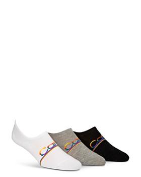 Calvin Klein - Pride Rainbow-Logo Liner Socks - Pack of 3