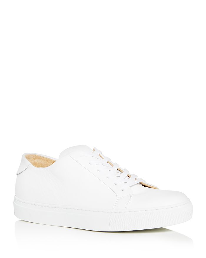 Collegium - Men's Pillar Leather Low-Top Sneakers