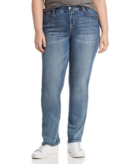 JAG Jeans Plus - Eloise Bootcut Jeans in Medium Indigo