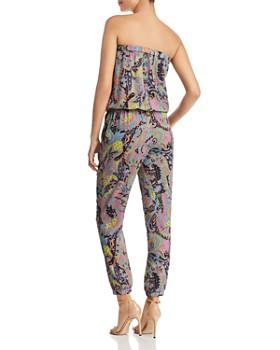 Le Gali - Nikki Paisley-Print Strapless Jumpsuit - 100% Exclusive