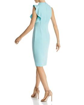 Black Halo - Pabla Ruffled Asymmetric Dress - 100% Exclusive