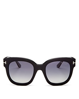 Tom Ford - Women's Beatrix Polarized Square Sunglasses, 52mm