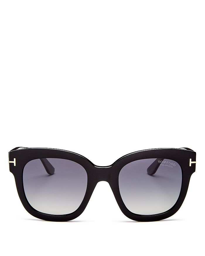 Tom Ford WOMEN'S BEATRIX POLARIZED SQUARE SUNGLASSES, 52MM