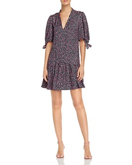 Rebecca Taylor - Wild Rose Floral-Print Dress