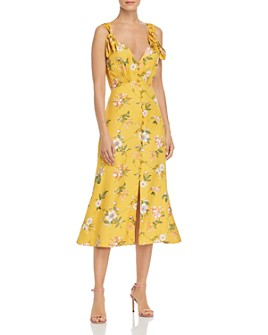 Rebecca Taylor - Lita Floral Bow Dress