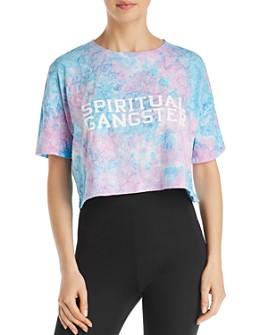 Spiritual Gangster - Veracruz Tie-Dye Cropped Tee - 100% Exclusive