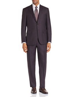 Canali - Siena Windowpane Classic Fit Suit
