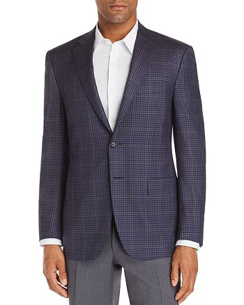 Canali - Siena District Check Classic Fit Sport Coat