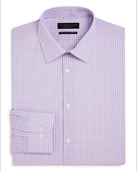 The Men's Store at Bloomingdale's - Tattersall Check Regular Fit Dress Shirt