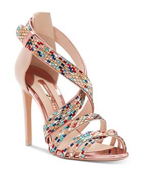 Sophia Webster - Women's Danae Crystal-Embellished High-Heel Sandals