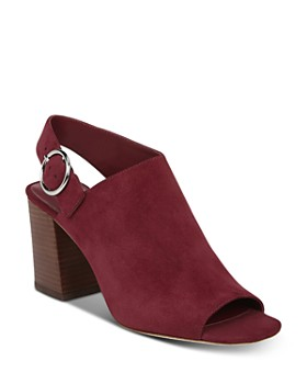 Via Spiga - Women's Elma Block Heel Slingback Sandals