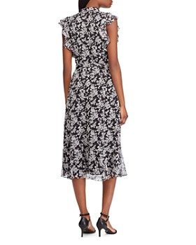 c5a47ba459e2 ... Ralph Lauren - Floral Flutter-Sleeve Dress