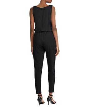 Ralph Lauren - Sleeveless Side-Stripe Jumpsuit