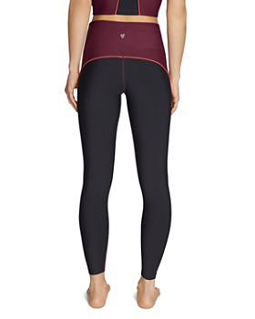 Betsey Johnson - Piped Color-Block Leggings
