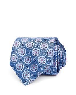 Canali - Florette Octagon Silk Classic Tie