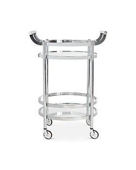 SAFAVIEH - Sienna 2-Tier Round Bar Cart