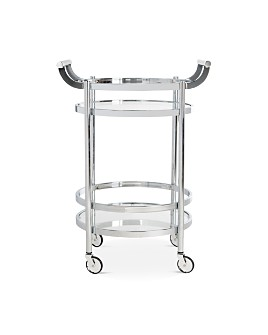 SAFAVIEH - Sienna 2-Tier Round Bar Cart