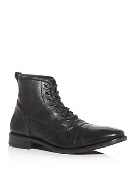 John Varvatos Collection - Men's Fleetwood Leather Boots